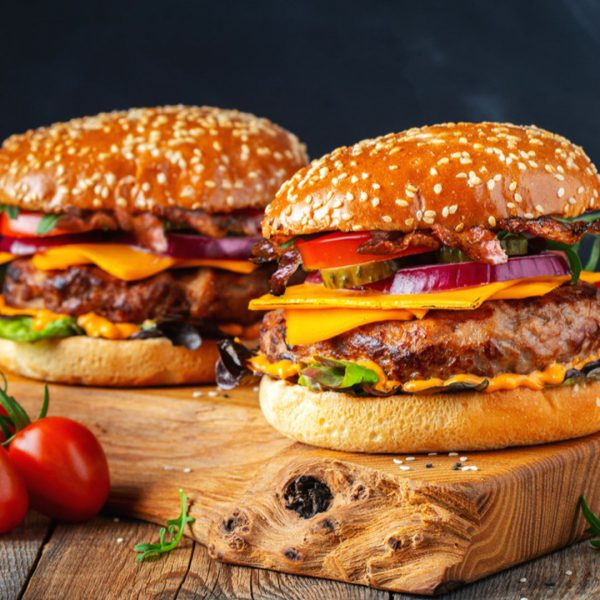 Angus Beef Burger American Food Express