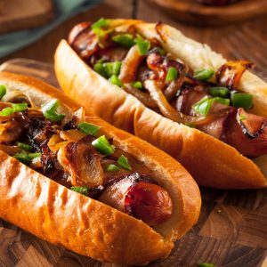 Build your own hotdog